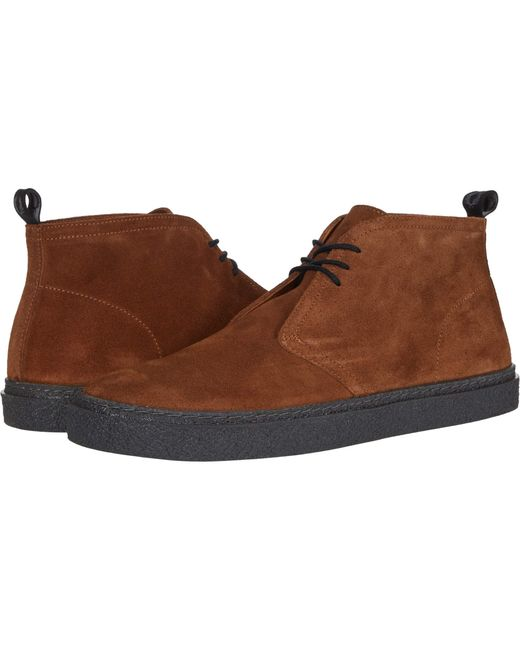 Fred Perry Natural Hawley Suede for men