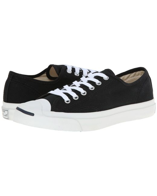 Converse - Jack Purcell(r) Cp Canvas Low Top (black/white) Classic Shoes - Lyst