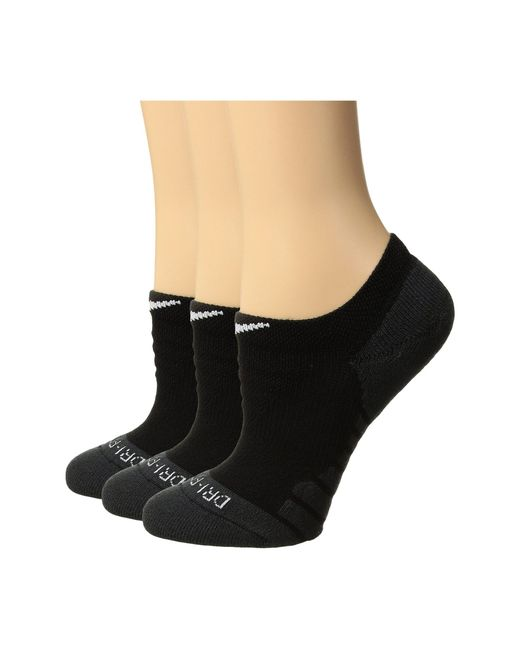3bc08de07d1 Lyst - Nike Dry Cushion No Show Training Socks 3-pair Pack (white ...