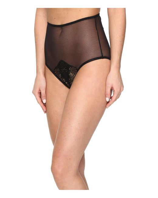 Only Hearts Black Whisper Sweet Nothings Coucou High Waist Brief