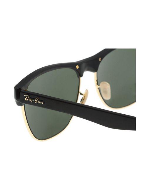 cfc7d8c7e6 ... Ray-Ban - Rb4175 Oversized Clubmaster 57mm (demi Shiny black Green)  Fashion ...