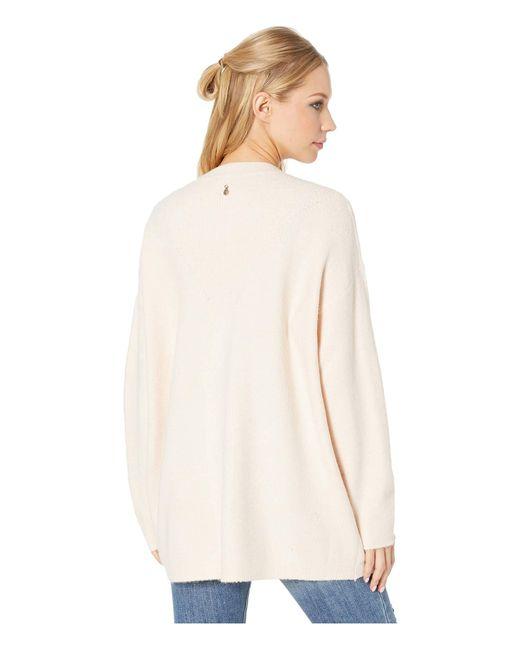 Lyst - Roxy Delicate Mind Cardigan (cloud Pink) Women s Sweater in ... b5e276d4e