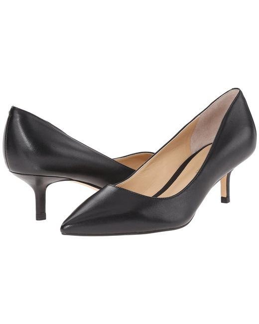 Ivanka Trump - Black Athyna Leather Pumps - Lyst