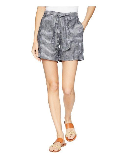 Lauren by Ralph Lauren - Multicolor Linen Shorts - Lyst
