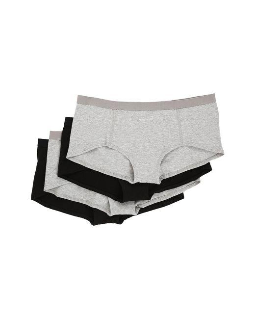 Pact - Black Everyday Boyshorts 4-pack (multi) Women's Underwear - Lyst