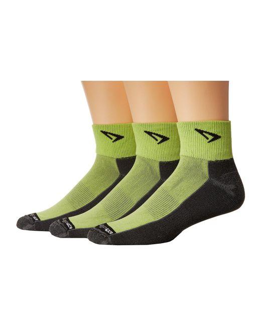 Drymax Sport - Black Lite Trail Running 1/4 Crew Turn Down 3-pair Pack (oct Pink/gray) Crew Cut Socks Shoes - Lyst