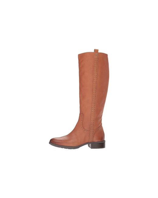 086a4baa0156 ... Sam Edelman - Brown Prina Wide Calf Leather Tall Boot (whiskey Neymar  Leather) Women s ...