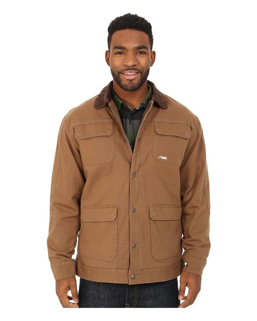 Mountain Khakis - Brown Ranch Shearling Jacket (dark Denim) Men's Coat for Men - Lyst