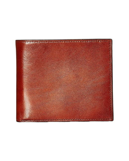 Bosca Multicolor Old Leather Collection - Credit Wallet W/ I.d. Passcase for men