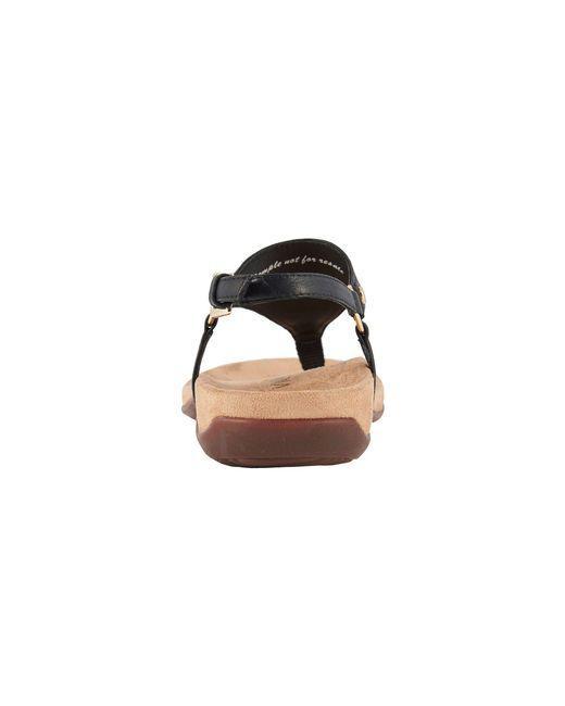 73041447f2 Lyst - Vionic Kirra (black) Women s Sandals in Black