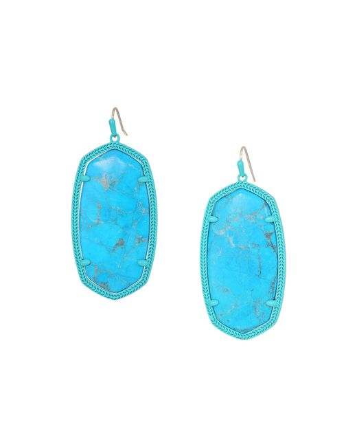 Kendra Scott - Multicolor Danielle Earring (gold/rhodium Filigree Mix) Earring - Lyst