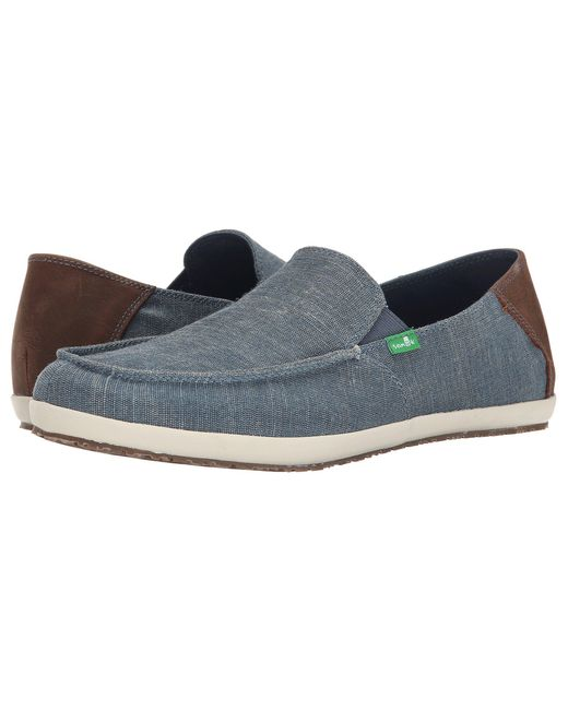 Sanuk | Blue Casa Vintage for Men | Lyst