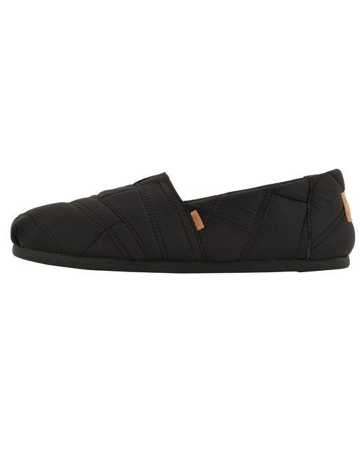1dc23215ab0 ... TOMS - Venice Collection Alpargata (black Heritage Canvas On Crepe)  Men s Slip On Shoes ...