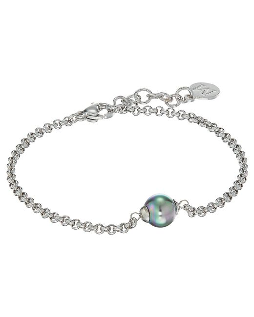 Majorica - Gray New Classic Bracelet (grey) Bracelet - Lyst