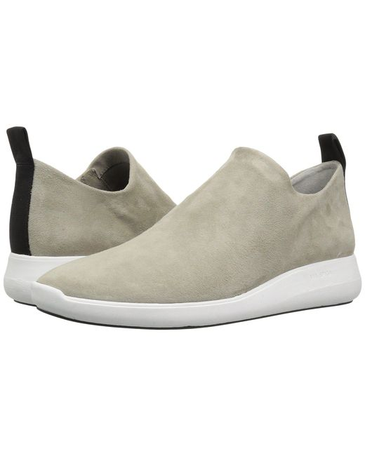 Via Spiga - Multicolor Marlow (cement Stretch Kid Suede) Women's Slip On Shoes - Lyst