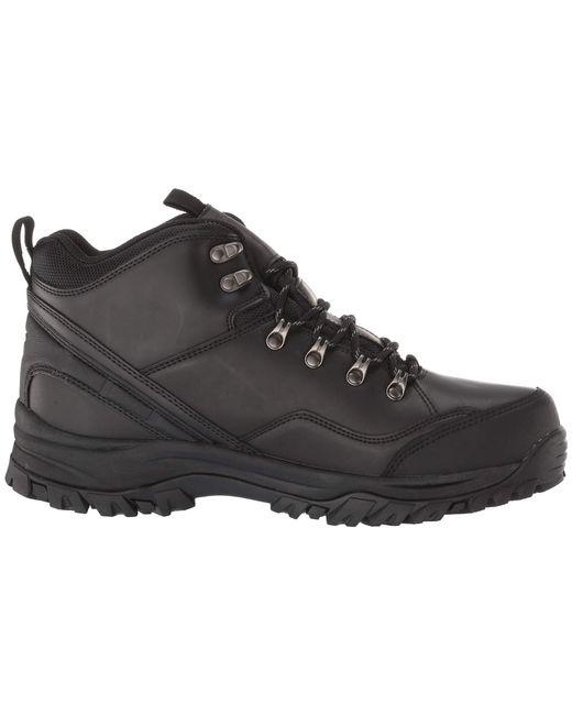 621d6129345c96 ... Skechers - Black Relaxed Fit Resment Traven (dark Brown) Men s Boots  for Men ...