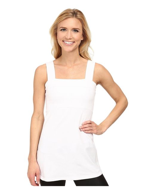Fig Clothing - Peg Top (white) Women's Sleeveless - Lyst