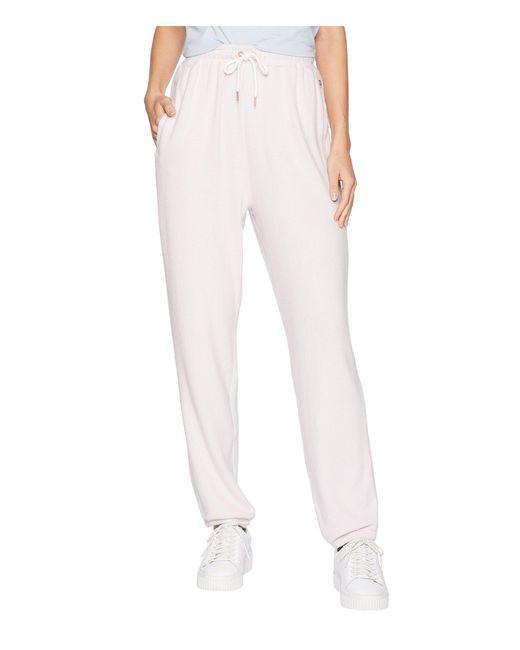 Volcom - Lil Fleece Pants (light Purple) Women's Casual Pants - Lyst