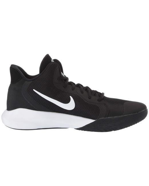 29d8e9a552df ... Lyst Nike - Precision Iii (black white) Men s Basketball Shoes for Men  ...