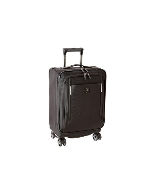 """Victorinox - Black Werks Traveler 5.0 - Wt 20"""" Dual Caster Expandable 8-wheel Global Carry-on - Lyst"""