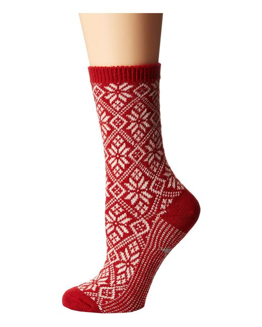 Smartwool - Red Traditional Snowflake - Lyst