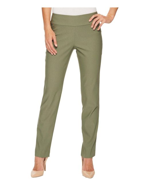 NIC+ZOE - Green Wonderstretch Pant - Lyst