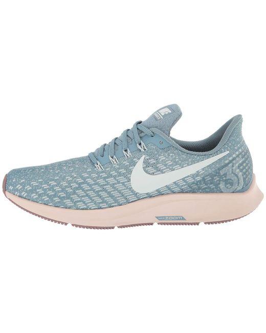 b1c942dfa0fd Lyst - Nike Air Zoom Pegasus 35 (vast Grey black pink Foam lime ...