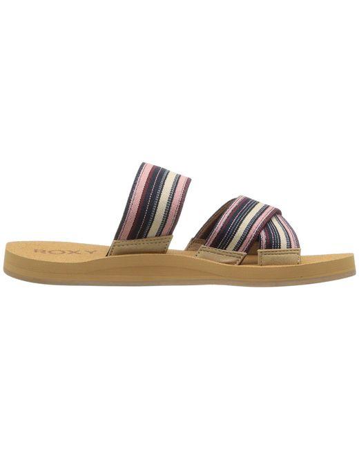 68a60121b9d3 Lyst roxy shoreside dark blue womens sandals in blue jpeg 520x650 Shoreside  criss