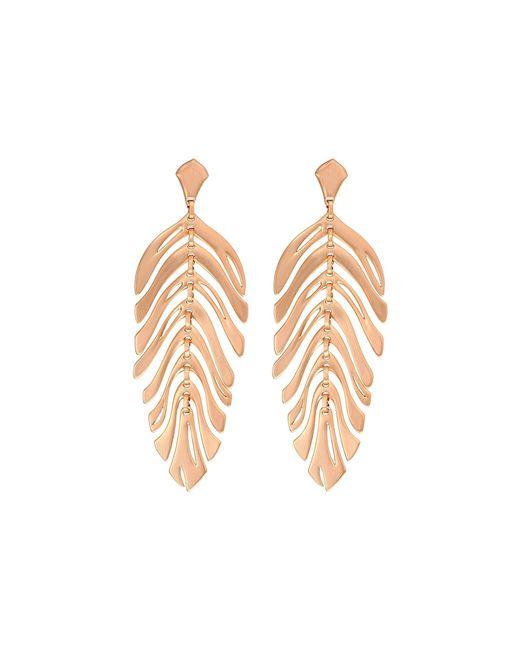 Kendra Scott - Metallic Lotus Earrings (gold/ivory Marbled Acrylic) Earring - Lyst