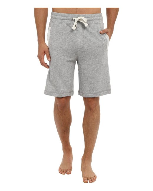 2xist - Gray 2(x)ist Core Terry Short (light Grey Heather) Men's Shorts for Men - Lyst