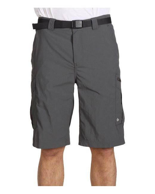 Columbia Gray Silver Ridgetm Cargo Short for men