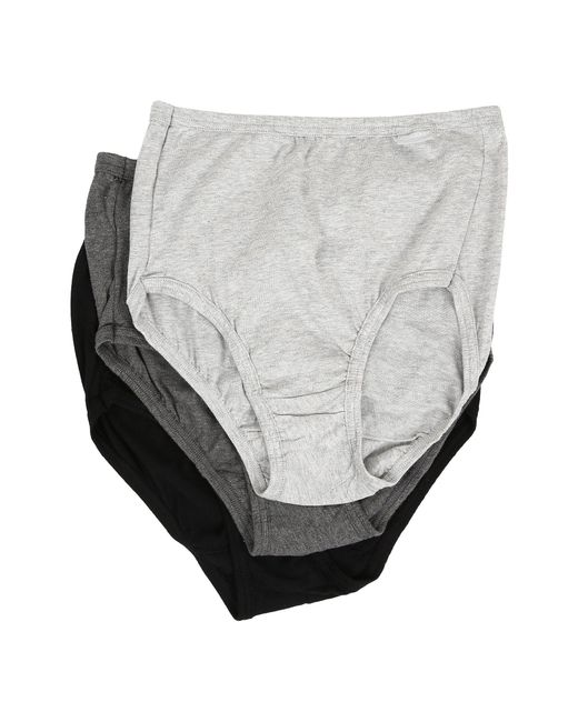 Jockey - Gray Elance(r) Brief 3-pack (perennial Purple/lilac Meadows/pink Pearl) Women's Underwear - Lyst