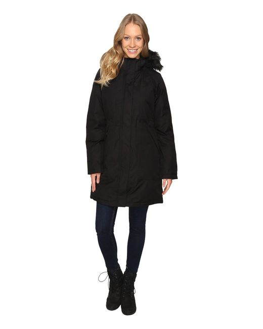 The North Face - Black Arctic Parka - Lyst