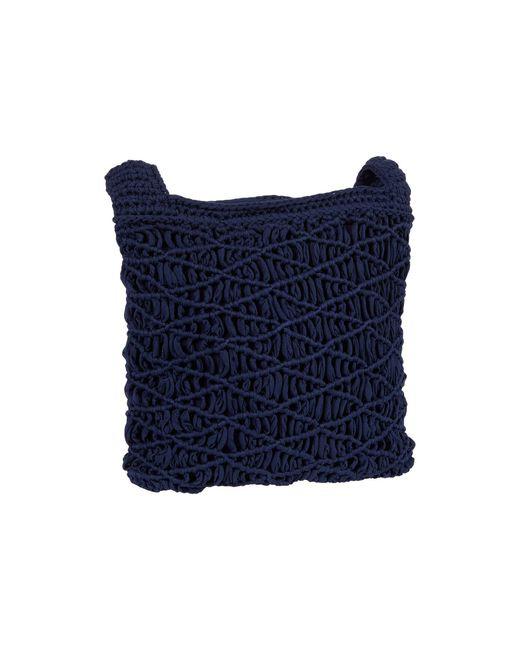 The Sak Blue Carlisle Crochet Crossbody