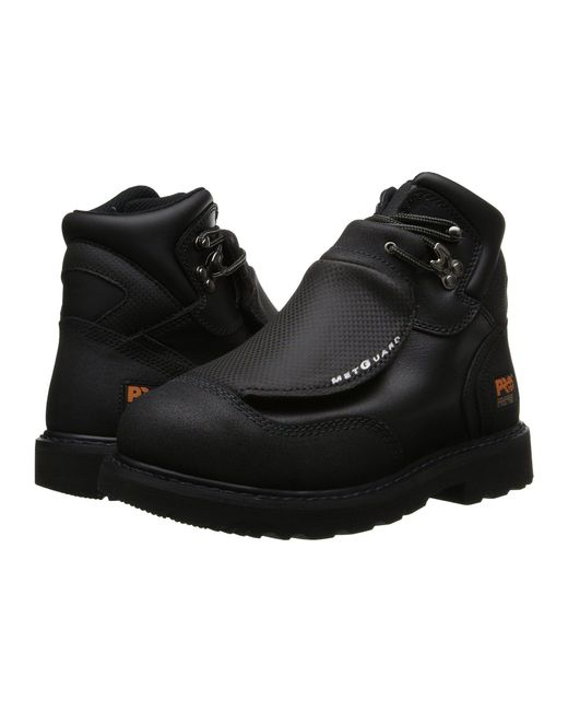 Timberland - Met Guard 6 Steel Toe (black Ever-guard Leather) Men's Work Lace-up Boots for Men - Lyst