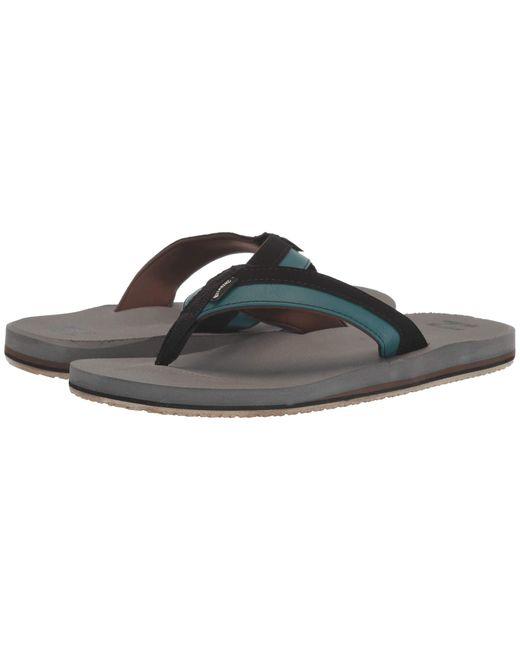 Billabong Gray All Day Impact Sandal for men