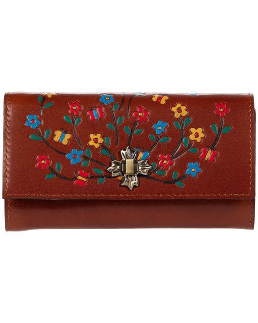 Patricia Nash Multicolor Terresa Wallet W/ Latch