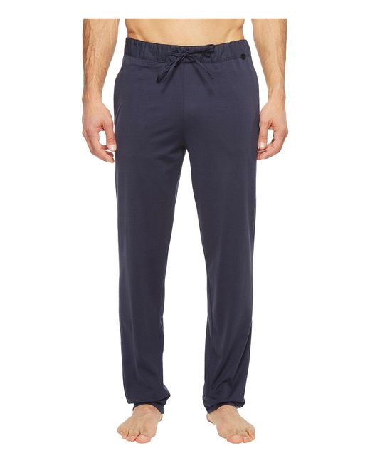 Hanro Black Night And Day Knit Lounge Pants for men
