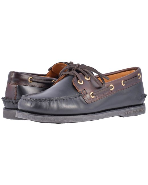 Sperry Top-Sider - Multicolor Gold A/o 2-eye (brown) Men's Slip On Shoes for Men - Lyst