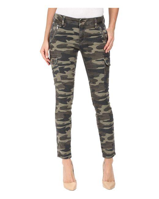 Mavi Multicolor Juliette Skinny Cargo In Military Camouflage