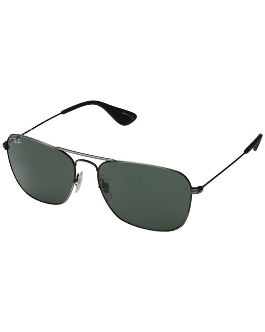 e1a73b7990 Ray-Ban - Multicolor Rb3610 58 Mm. (matte Black Antique dark Green ...