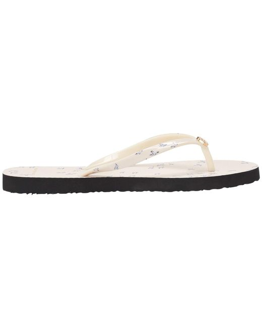 fb5cc575be8c ... Tory Burch - White Printed Thin Flip-flop (ivory Early Bird) Women s  Sandals ...