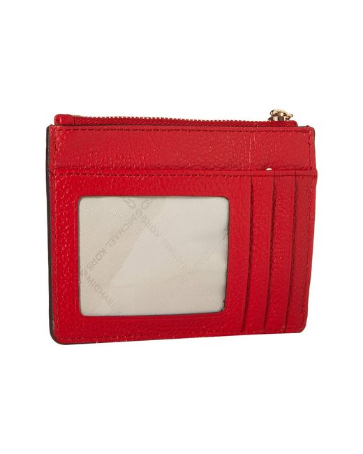 f8c2b09a35c1 ... MICHAEL Michael Kors - Small Coin Purse (bright Red) Coin Purse - Lyst  ...