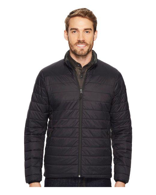 Fjallraven - Black Keb Lite Padded Jacket for Men - Lyst