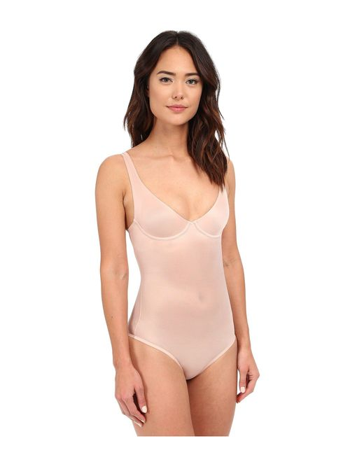 Wolford Multicolor Sheer Touch Forming String Body