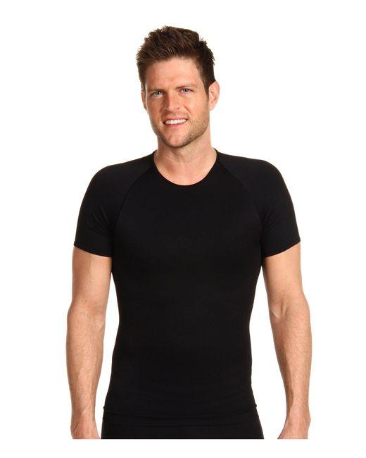 Spanx - Zoned Performance Crew Neck (black) Men's Underwear for Men - Lyst