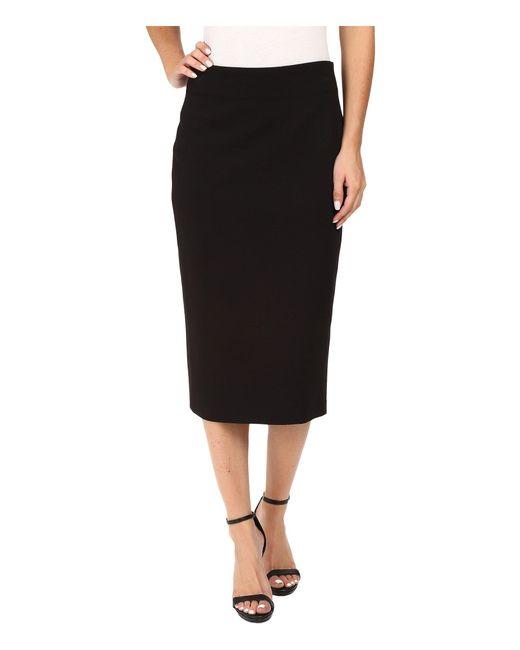 Vince Camuto - Ponte Pencil Skirt (rich Black) Women's Skirt - Lyst