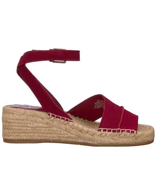 17173a8d2d1e Lyst - Nine West Edwisha (black) Women s Wedge Shoes in Red