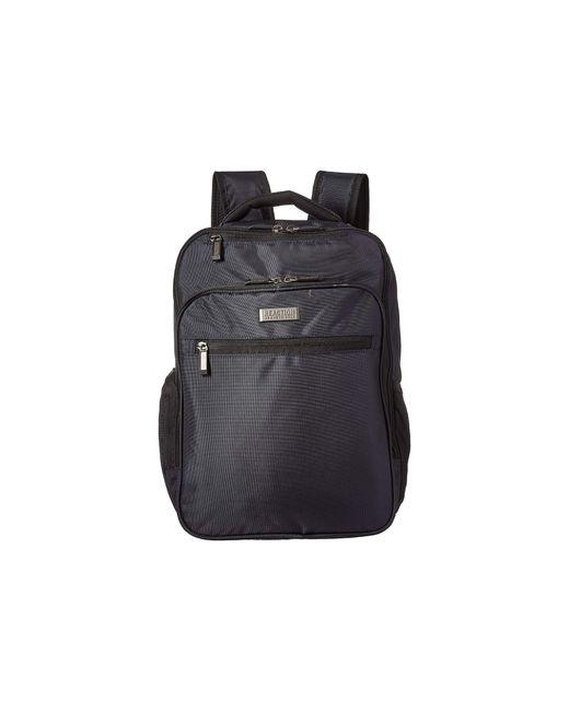 Kenneth Cole Reaction Blue 16 Ez Scan Rfid Computer Backpack