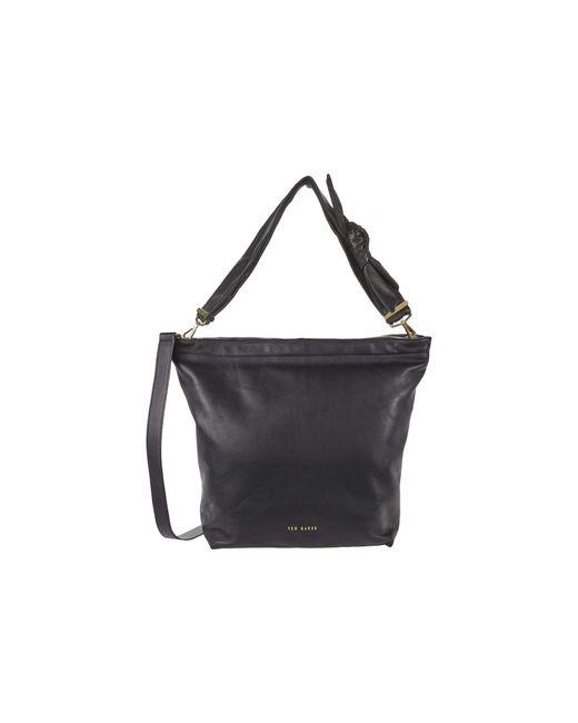 Ted Baker Black Softia Hobo Handbags